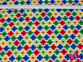 Remix Baumwolle mit Blumenmuster