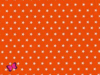 Baumwolle Sterne weiß