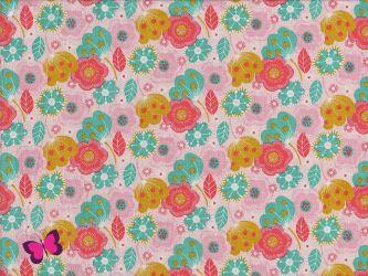 Talullah Baumwolle Blumen Swafing