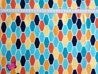 Hexo Baumwolle Technicolor Michael Miller