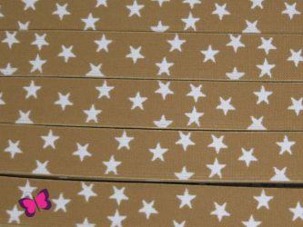 Gummiband mit Sternen