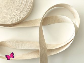 Baumwollgurtband - 3 cm breit