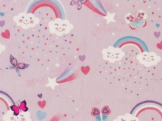 Regenbogen Schmetterling Webware Kim