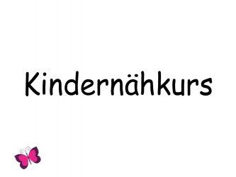 Nähkurs für Kinder