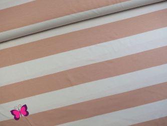 Streifen Viskosejersey Lina