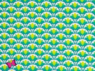 Lotus Muchelmuster Jersey Lotus Dreams Lycklig Design