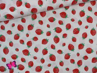 Erdbeer Baumwolle Sevenberry