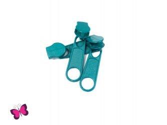 Metallzipper für Endlosreißverschluss Unifarben