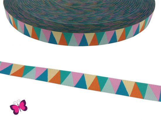 Triangle Spring No. 1 Webband bunt  Luzia Pimpinella