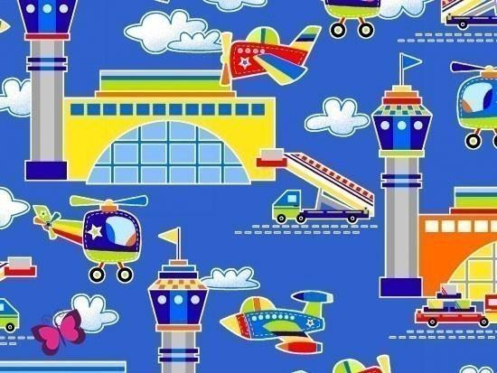 Air Show Webware mit Flugzeugen