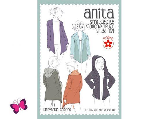 Anita Schhnittmuster Strickjacke