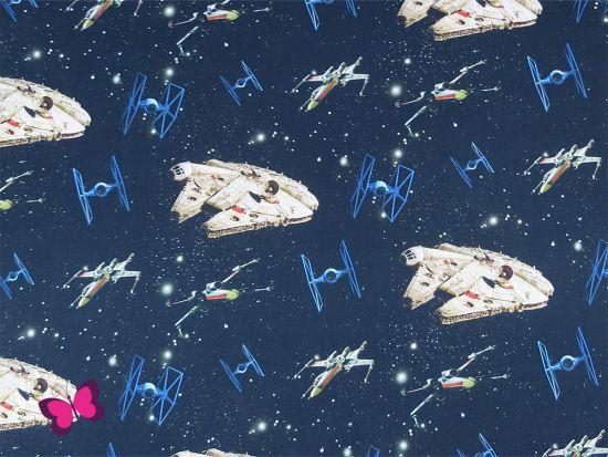 Star Wars Baumwolle Raumschiff