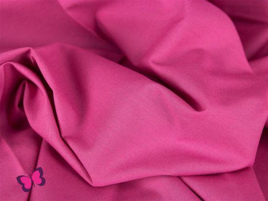 Baumwolle in Unifarben pink