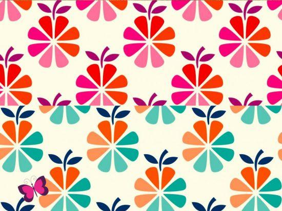 In my kitchen Canvas Blumen