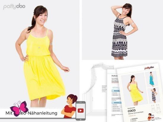 Damen Sommerkleid Coco Schnittmuster