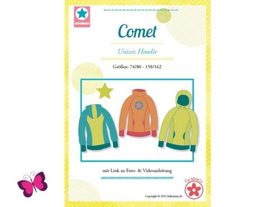 Comet Hoodie Schnittmuster mialuna