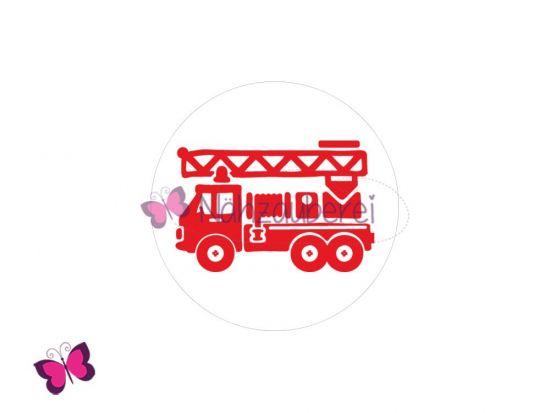 Feuerwehr Button