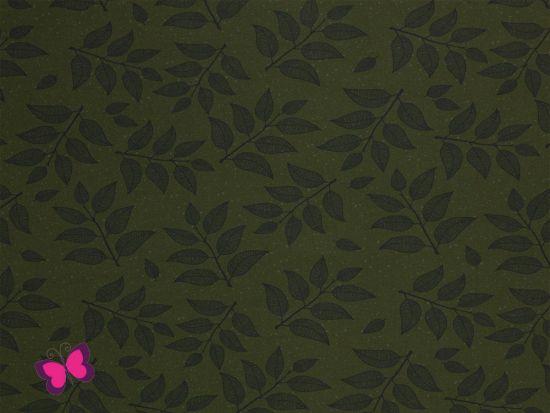 Hedda Sweat Zweige dunkelgrün