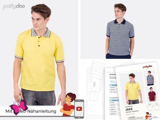 Poloshirt Jake Schnittmuster