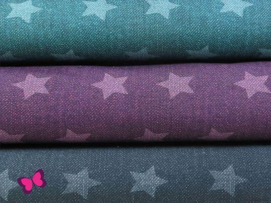 Sterne Jeans Stretch-Jersey