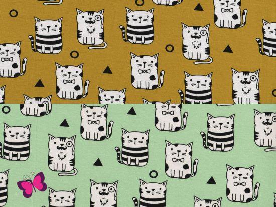 Katzen Jersey Vicente Dreiecke