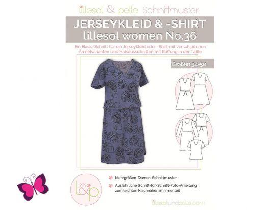 Jerseykleid & -Shirt lillesol woman No. 36