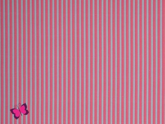 Streifen Webware Kim türkis pink