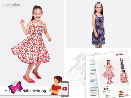 Kinderkleid Leni Schnittmuster