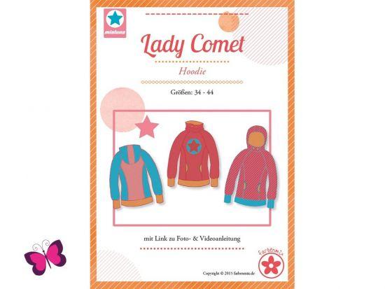 Lady Comet Hoodie Schnittmuster mialuna