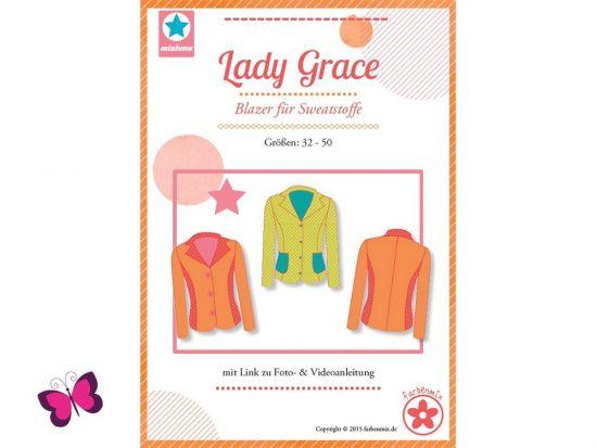 Lady Grace Blazer Schnittmuster mialuna
