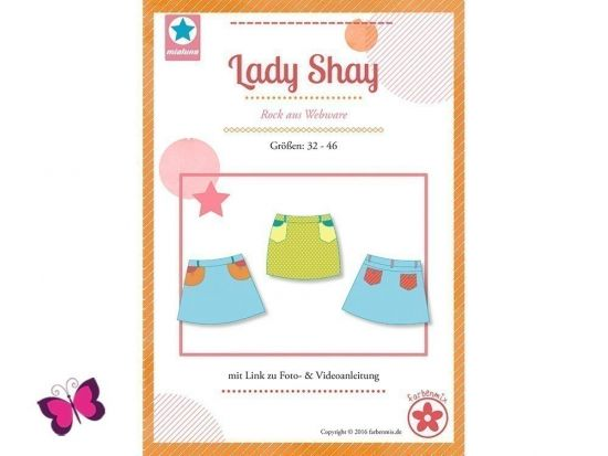 Lady Shay Schnittmuster Rock aus Webware
