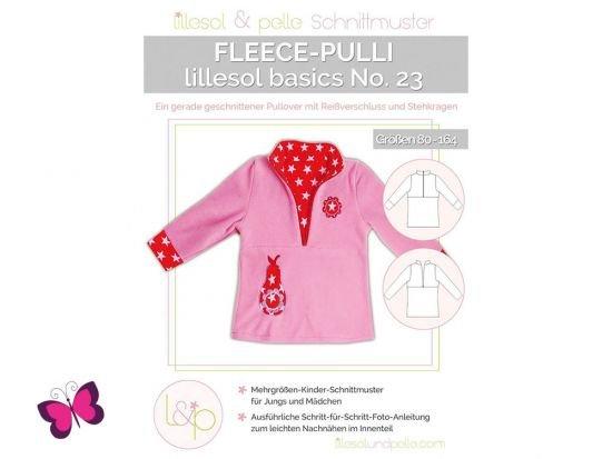 Fleece-Pulli lillesol basics No. 23