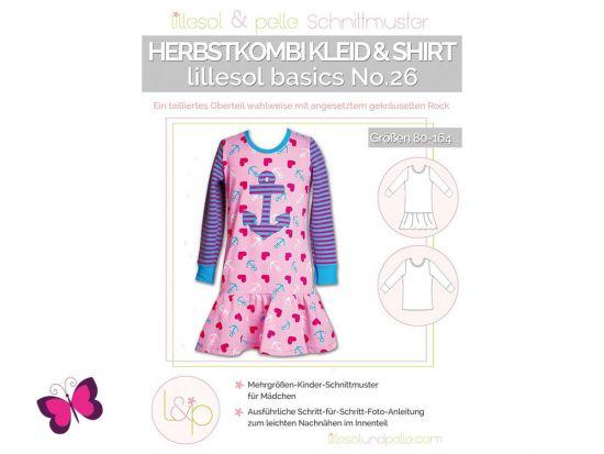 Herbstkombi Kleid & Shirt lillesol basics No. 26