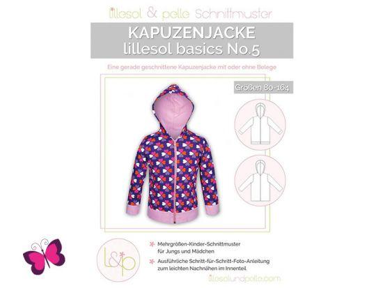Kapuzenjacke lillesol basics No. 5