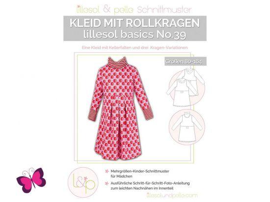 Kleid mit Rollkragen lillesol basics No. 39