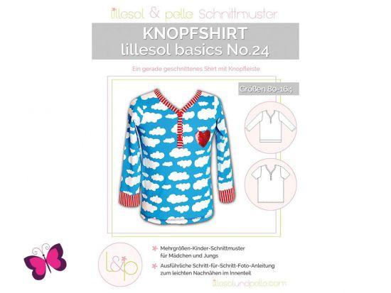Knopfshirt lillesol basics No. 24