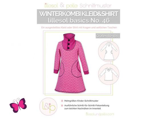 Winterkombi Kleid & Shirt lillesol basics No. 46
