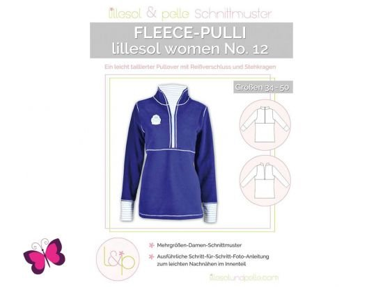 Fleece-Pulli lillesol women No. 12
