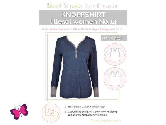 Knopfshirt lillesol women No. 14