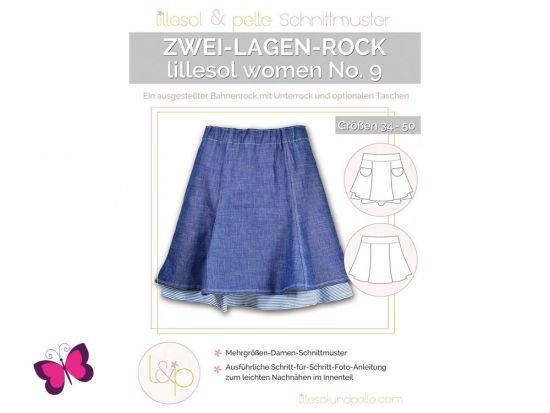 Zwei-Lagen-Rock lillesol women No. 9