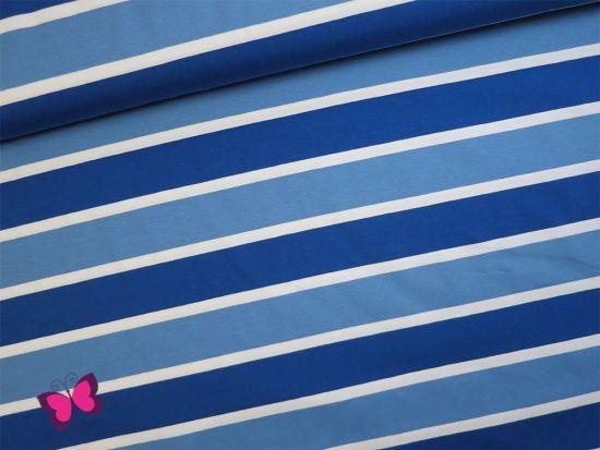 Lou Streifen Jersey Blau Weiß