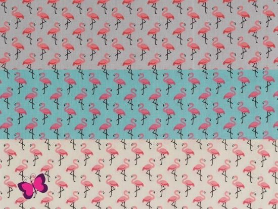 Flamingo Baumwolle