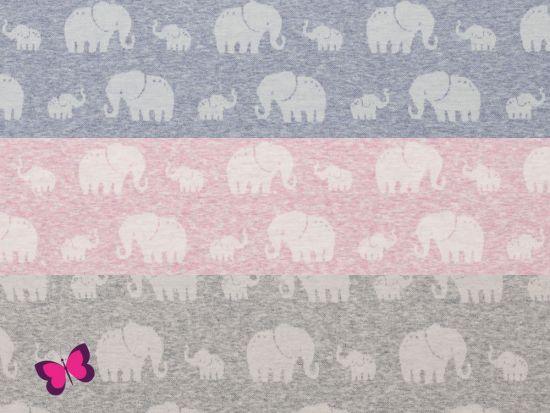 Madita Jacquardjersey Elefanten