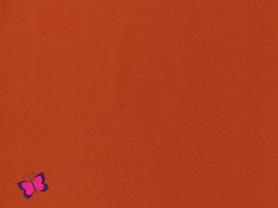 Sweat Maike Unifarben terracotta