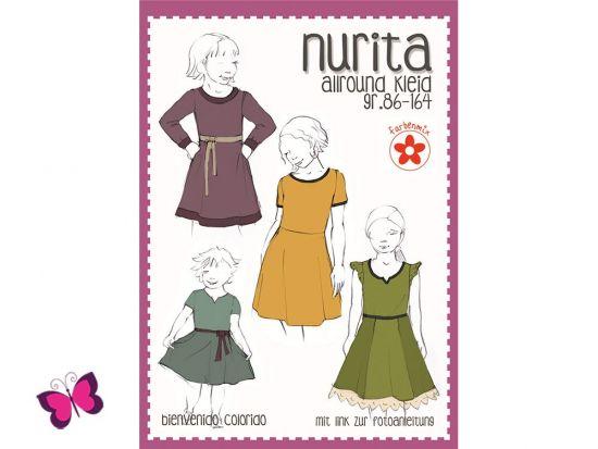 Nurita Schnittmuster Allround Kleid