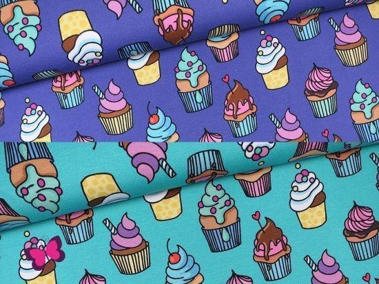 Omg Cupcakes Jersey Zuckerkuchen Jerseystoff Kaufen
