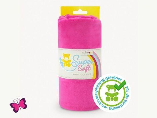 Plüschstoff SuperSoft Shorty pink