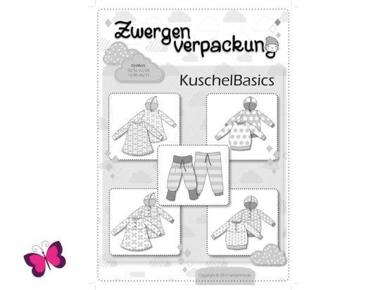 Schnittmuster Zwergenverpackung KuschelBasics