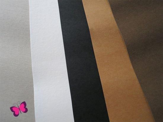 Snap Pap Papier in Lederoptik