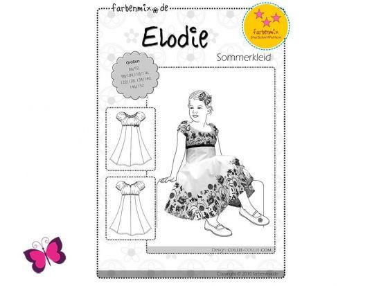 Schnittmuster Elodie Kleid Farbenmix